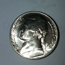 1943-D Jefferson BU Nickel  Nice Coin from roll (1 coin) free combined shipping