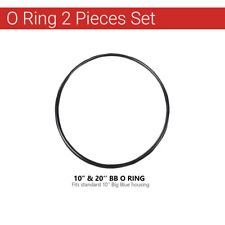 "2 Pcs Max Water O ring for BB Filter Housings Size 10"" & 20""x4.5"" Double Oring"