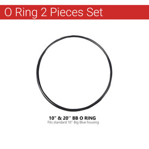 """2 Pcs Max Water O ring for BB Filter Housings Size 10"""" & 20""""x4.5"""" Double Oring C"""
