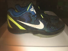 Nike Zoom Kobe 6 VI 2011 Photo Blue Camo Volt Mens Size 12 Basketball Mamba Rare