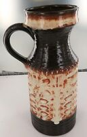 VINTAGE RETRO GERMANY POTTERY DRIP GLAZE VASE 1835/25.