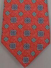 """Kiton Napoli Mens 7 Fold Handmade Woven Neat Tie NEW 59"""" X 3.5"""" SKU B32/44 $290"""