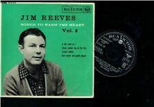 JIM REEVES SONGS TO WARM THE HEART VOL 2 EP 1959