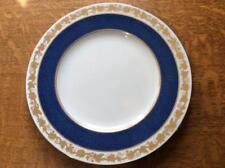 "Wedgwood Cobalt Whitehall bone china 10 3/4"" dinner plate W3993 black mark"