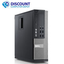 Fast Dell Optiplex Desktop Computer Quad Core i5 3.2GHz PC 8GB 1TB Windows 10