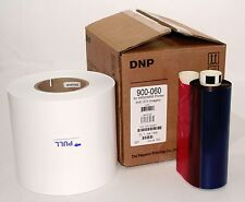 DNP 6 inch kit for Kodak 6800, 6850 & 605 printers (1 roll of paper & 1 ribbon)