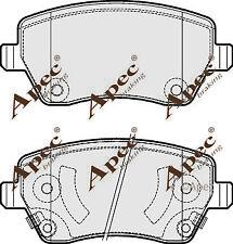 Pastillas de Freno Delantera Para Nissan Nota Genuino APEC PAD1887