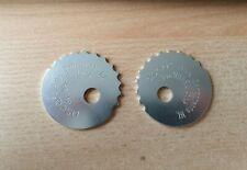Pair of ASCO BMX Components NL Pro Wheel Lock Chain Tensioner Vintage