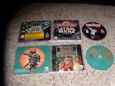 Star Wars Dark Forces & Star Wars Monopoly - PC Games