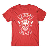 The Fire Fighter T-Shirt 100% Cotton Premium Tee New