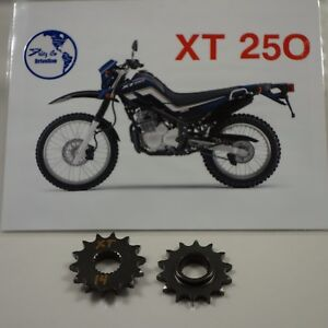 Yamaha XT 250 FRONT SPROCKET 14 tooth, 2008 to 2020