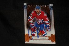 ANDREI MARKOV 2009-10 UD ARTIFACTS SIGNED AUTOGRAPHED CARD #88 CANADIENS