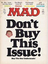 MAD Magazine #217 UK Edition 1980