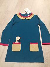 BNWT m&s Brillant Filles Hiver Robe 3-4 ans. Idéal Pour Noël Temps.