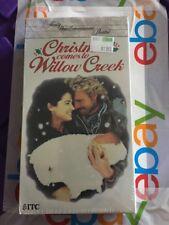 Christmas Comes To Willow Creek VHS John Schneider Kim Delaney Tom Wopat