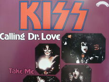 """KISS 45 RPM 7"""" - Calling Dr. Love UNPLAYED W/GERMANY SLEEVE"""