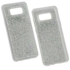 Hybridcover Glam Silber für Samsung Galaxy S8+ / S8 Plus Case Hülle Cover