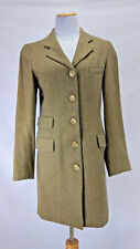 Vintage Women's - CATALINA FUTI Green & Brown Blazer - Size Small