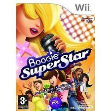 Nintendo wii jeu boogie superstar super star sans micro NEUF