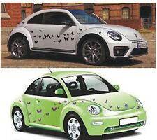 Car Stickers 20 Peel&Stick butterflies,16 colour available vinyl decal