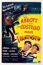 Abbott Costello Meet Frankenstein Movie Poster 24inx36in (61cm x 91cm)