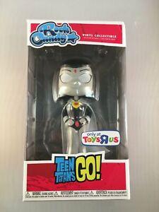 Rock Candy Teen Titans Go! Raven White Exclusive ToysRus Funko Vinyl Collectible