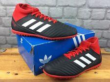 ADIDAS UK 4 EU 36 2/3 PREDATOR 18.3 TF FOOTBALL BOOTS BLACK RED BOYS RRP £50 M