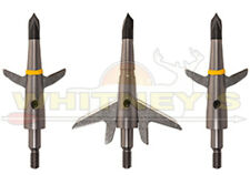 "Swhacker 2 Blade Crossbow/XBow 1.75"" Cut 100 Gr.  Mechanical Broadhead Item# 219"