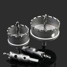 15 - 100mm TCT Lochsäge Bohrkrone Hartmetall Kreisschneider für Edelstahl Metall