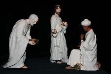 "Vintage LENOX The Classic Nativity ""The Three Kings""  3 Wisemen 1995 IOS"