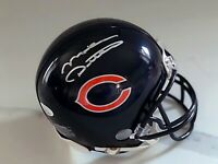 Mike Ditka Chicago Bears Coach Signed Autographed Mini Football Helmet JSA COA