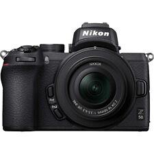 Nikon Z50 DX Mirrorless Camera Body w NIKKOR Z DX 16-50mm f/3.5-6.3 VR Lens