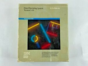 IBM PC DOS 3.20 OEM Manual and Disk Operating System Computer
