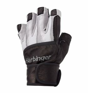 Harbinger Men's Bioform Gloves with Wrist Wraps