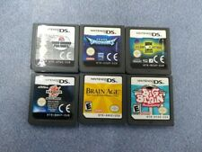 Nintendo DS Game Bundle Game Cards Only Spectrobes Ben 10 Bakugan Used GC