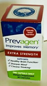 PREVAGEN EXTRA STRENGTH IMPROVES MEMORY  DAILY DIETARY SUPPLEMENT 30 CAPSULES