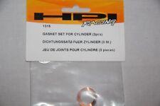 HPI RACING - 3 jeux de joints pour cylindre - ref  1315