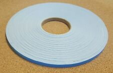 20m white Single Sided Foam Tape Closed Cell 10mm Wide x 2mm Thick