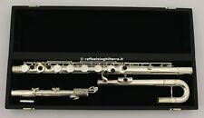 Pearl Flutes flauto traverso basso PFB305E Argentato fori chiusi
