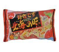 Denroku, Hokkai no Aji, 130g, Rice Cracker & Nuts, Japanese Snack