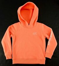 Vineyard Vines Girls Hoodie Sweatshirt Vintage Whale Logo Orange Pull-Over 2T