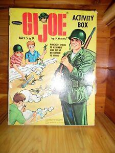 RARE!!!  Vintage Whitman GI Joe by Hasbro Activity Box Punchout Set ©1965