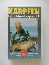 VHS Video Kassette Karpfen Erfolgreich angeln Nr 7 Jens Ploug Hansen