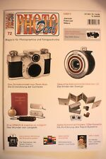 PHOTO DEAL Photodeal 72 Speed Graphic UFA Photokina M42 Minox Kleinstbild Agfa