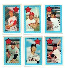 1971 Kellogg's baseball card lot --- Agee Selma Siebert Epstein Gaston McDowell