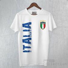 T-Shirt Maglietta Maglia ITALIA Europei 2021 Mondiali Calcio Tifoso Bandiera Fun