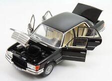 Mercedes 450 SEL 6.9 W116 (1976) Black Limited Edition 1:18 Norev 183458