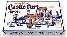 Marx Prince Valiant Castle Fort Play Set Box