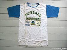 Vintage 80s Diadora football stadium t-shirt m Italy College brasil Kobra Soccer