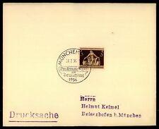 """3. REICH BRIEF 1936 SStpl. """"MÜNCHEN - DAS BRAUNE BAND"""" m1078"""
